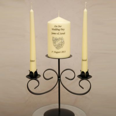 Wedding Unity Set Including Stand